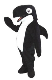 $enCountryForm.capitalKeyWord Australia - Black Shark Dolphin Mascot Costume Mascot Costumes For Adults Christmas Halloween Outfit Fancy Dress Suit Free Shipping