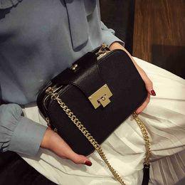 Metal Ladies Handbags Australia - 2019 Spring New Fashion Women Shoulder Bag Chain Strap Flap Designer Handbags Clutch Bag Ladies Messenger Bags With Metal Buckle