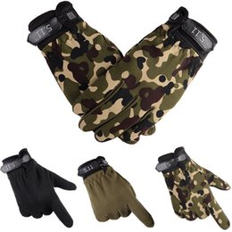Outdoor Wear Army Tactical Gloves Outdoor Full Finger Newly CA Army Green Camouflage Black Cool Gloves Mittens from quality cell phones manufacturers