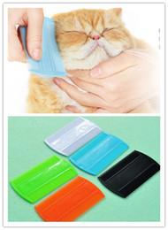 $enCountryForm.capitalKeyWord Australia - Plastic Flea Lice Combs Double Sided Pet Flea Combs Cat Dog Grooming Fine Tooth Hair Combs