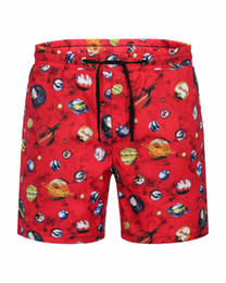 China Designer creates original shorts summer shorts brand men's beach pants planet galaxy fashion luxury clothing planet pants knee length pants cheap planet xl suppliers