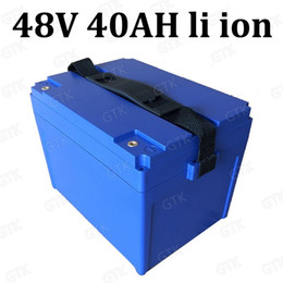 48v 40ah lithium ion battery pack 48V li ion batteries for 3000W Electric Bike battery Electric bicycle e scooter + 5A Charger