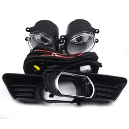$enCountryForm.capitalKeyWord Australia - Gzhengtong 2Pcs Front Bumper Fog Lights Lamps DRL Driving Lights Fog Lamp Clear Lens Covers & Switch For Toyota Camry 07-09