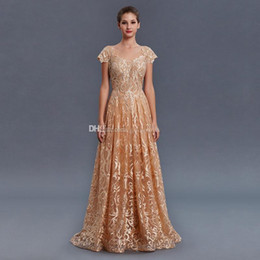 $enCountryForm.capitalKeyWord Australia - model pictures Saudi Arabia Turkey Pakistan Middle East gold lace beaded evening dresses 2018 heavily embroidery A-line evening gowns prom
