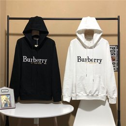 London coat online shopping - 19AW Luxurious Brand Design BBR Hoodie OF London Hooded Pullovers Fashion Streetwear Casual Hoodies Outdoor Sweatshirts Coat