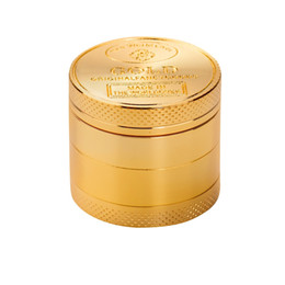 $enCountryForm.capitalKeyWord NZ - Hot Sale Gold Herb 4 layer Tobacco Grinder Men Gifts calorie crusher herbal Grinders Smoking Pipe Accessories Gold Smoke Cutter