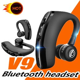 $enCountryForm.capitalKeyWord NZ - V9 V8S V8 Handsfree Wireless Bluetooth Earphones Noise Control Business Wireless Bluetooth Headset with Mic for Driver Sport