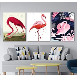diamond 3d pictures NZ - 3pcs Diamond Embroidery Painting 3D Full Drill 5d Diamond Mosaic Cross Stitch Triptych Flamingo picture Decor Diamond Painting