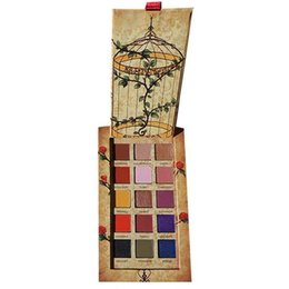 Wholesale High Quality Makeup Palettes UK - Huda Eye Makeup Erinnyes Cageling High Quality Beauty 15 Shades Matte Metal Melted Shadows Glitter Eyeshadow Palette