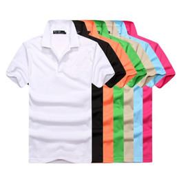 $enCountryForm.capitalKeyWord UK - Polo Mens Clothing Poloshirt Shirt Men crocodile Cotton Blend Short Sleeve Casual Breathable Summer Breathable Solid Clothing Men Size S-6XL