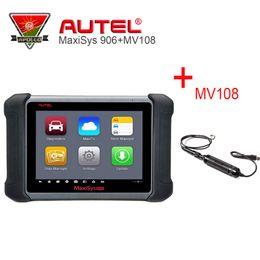 $enCountryForm.capitalKeyWord Australia - AUTEL MS906 Diagnostic Scanner Maxisys 906 OBDII Auto Tool MaxiVideo MV108 Digital Inspection Camera