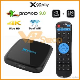 $enCountryForm.capitalKeyWord Australia - X99 Play Smart TV Box Android 9.0 Set Top Box 2GB 4GB Ram 16GB 32GB 64GB Rom 4K 3D Mini TV Box Quad Core Media Player TV Stick