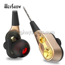 Super Stereo Australia - QKZ CK8 3.5 mm Dual Driver Earphones Stereo In-Ear Super Bass Sport Running Headset HIFI Monitor Earbuds Handsfree With Mic fone de ouvido