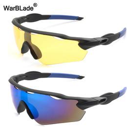 81193e260a9 WarBLade Brand Designer Night Vision HD Driving Sunglasses Men Polarized  Sunglasses Outdoor Sports Anti-glare Goggles Glasses