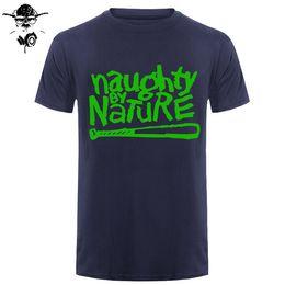 3ca29349908f 2019 mens designer t shirts Naughty By Nature Old School Hip Hop Rap  Skateboardinger Music Band 90s boy girl T-shirt Cotton Top Tees