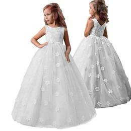 Vestido crianças bebê princesa vestir roupas longa festa para meninas 5-13 Years Old X-5042 em Promoção