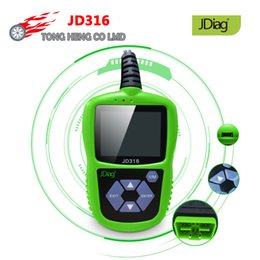 odb2 scanner Australia - Origial JDiag JD316 OBD2 Automotive Engine Fault Code Reader ODB2 Auto Scanner Read Clear Fault Code Support CAN K-line JD 316