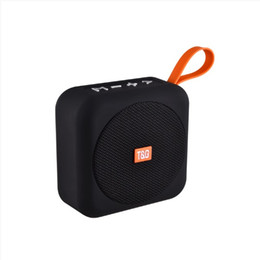 mini bluetooth sport speaker Australia - Portable Bluetooth Speaker Stereo Sound with Handle Wireless Mini Soundbox Outdoor Sport Loudspeaker TG505 Amplifer for Smart Phone