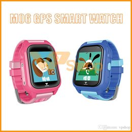$enCountryForm.capitalKeyWord Australia - M06 Child GPS Smart Watch Waterproof IP67 Phone Positioning GPS Tracker Watch 1.44 inch Color Touch Screen Smartwatches for Kids