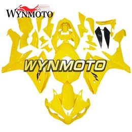$enCountryForm.capitalKeyWord Canada - Gloss yellow Hulls Motorcycle Fairings For Yamaha YZF 1000 R1 2007 2008 ABS Plastic Injection motorbike cowlings covers