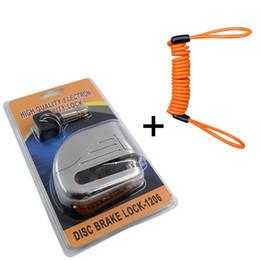 $enCountryForm.capitalKeyWord Australia - New Design Small Alarm lock disc brakes Bicycle Lock Bike Mountain Fixed Anti Theft Security Bicycle Accessories 6 Colors #210370