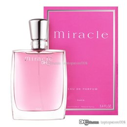perfume romantic NZ - Elegant lady perfume 1V1 quality miracle Blossom Miracle Secret French romantic sweet fresh and lasting free shipping
