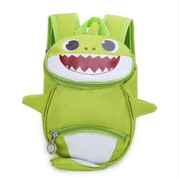 $enCountryForm.capitalKeyWord UK - Kids ANTI-LOST Backpack Lovely Baby shark Boys Girl Schoolbag Rucksack Cartoon Baby Children Harnes Toddler Safety Strap Backpack 2019A52208