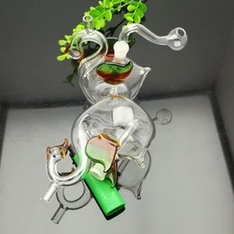 Swan Pipe Australia - Swan Glass Water Tobacco Pot Accessories in Europe and America Wholesale Glass Water Pipes Tobacco Accessories Glass Ash Catcher