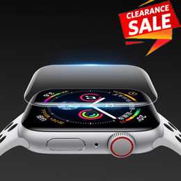 Apple Smart Watch 42mm Australia - For Apple Watch 38mm 40mm 42mm 44mm Screen Protector iWatch 4 3 2 1 Hydrogel Full Protective Film smart series 4 watches