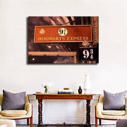 harry potter art 2019 - Harry Potter Y La Piedra Filosofal Movie Paintings on Canvas Modern Oil Printing Art Poster Decorative Wall Pictures Hom