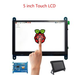 demo boards NZ - Demo board & Accessories Demo Board Accessories 5 inch Raspberry Pi 4 Touch Screen 800x480 Capacitive LCD Display + Holder for