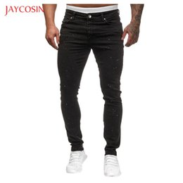 men pants styles NZ - Jaycosin Brand 2020 New Fashion Men Jeans Light Casual Summer Style Slim Fit Pencil Jeans Pants Trousers Men Mid Waist