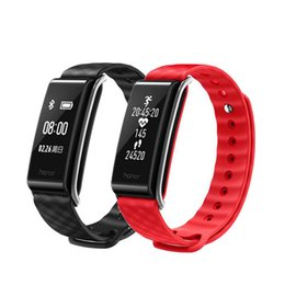 """Discount huawei smart watches - Fashion Sports Silicone Bracelet Strap Band For Huawei A2 Smart Wristband 0.96"""" OLED Screen Fitness Heart Rate Moni"""