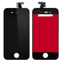 Iphone 4s Touch Screen Panel Canada - White Black Replacement For Apple iphone 4 4s CDMA Lcd Display Lcd Digitizer Touch Screen Assembly With Fast DHL Shipping