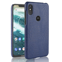 $enCountryForm.capitalKeyWord Australia - For Motorola P30 Note Case Retro Luxury Crocodile PU Leather Skin Book Cover For Motorola Moto P30 Note Phone Bag Case