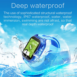 smart watch phone dhl Australia - M06 Smart GPS Child Watch Waterproof IP67 Phone Positioning GPS Tracker 1.44 inch Color Touch Screen via DHL