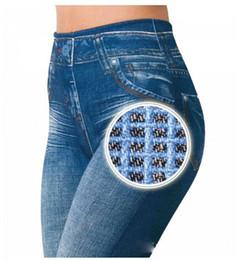 $enCountryForm.capitalKeyWord Australia - Seamless Wholesale Jeggings Jeans For Women High Waist Skinny Push Up Pencil Pants Plus Size S-5xl Stretchy Slim Leggings