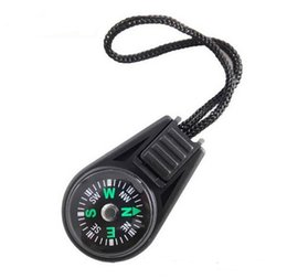 Cheap gadgets online shopping - Outdoor Gadgets Mini Hanging Ring Hand Compass For Camping Cheap Portable Hiking Tools Plastic Rope Sling Compass