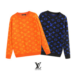 Mens cotton crew neck sweaters online shopping - Mens designer sweaters Pullover Brand mens sweater Snake Embroidery Knitwear Long Sleeve Designer Sweatshirt Winter Mens Clothing Crew Neck