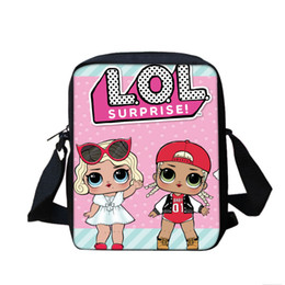 dc10df0e0d18 Cartoon Kids Children Mini Messenger Bags Girl LOL Dolls School Bag Satchel  for Girls Crossbody Shoulder Bags Clutch Pouch