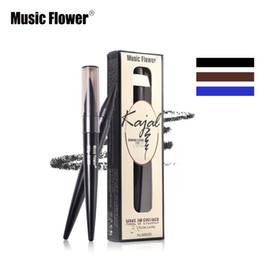 $enCountryForm.capitalKeyWord NZ - Music Flower New Designer Matt Color Magnetic Eyebrow Pen Luxury Fashion Fine Sketch Waterproof Tatoo Pencil Professional Makeup Pen