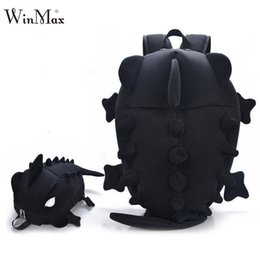 School Book Bags NZ - Factory Outlet 2018 Creative Kids 3D Animal Backpack Dinosaur Shape Children Primary Cartoon School Bags Teenager Book Schoolbag Y190601