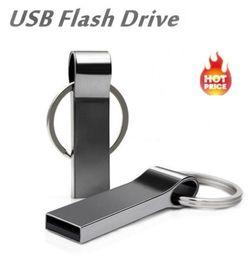 2019 Ny nyckel USB Flash Drive 32GB Metal High Speed Pendrive 64GB 8GB 128GB USB Flash Memory Stick Pen Drive 16GB USB-stick