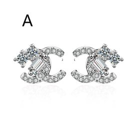 $enCountryForm.capitalKeyWord UK - 2019 designer earrings luxury designer jewelry women earrings luxury earrings ins Europe and the United States popular holiday gift