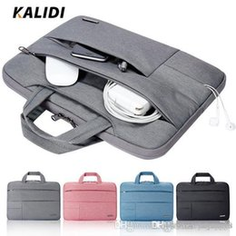 laptop 14 inch notebook Australia - UK Hot selling Waterproof Laptop Handbag Notebook Bags Men Women Handbags Canvas Computer Laptop Bags13 14 15 inch Travel Bags hot sell