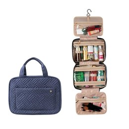 designer cosmetic bags cases 2021 - 2020 Newly Hot Sale Water-resistant Travel Cosmetic Makeup Bag Toiletry Case With Hook Hanging Pouch 3.0hus