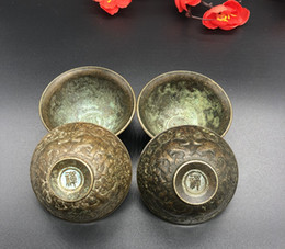 Folk Arts Australia - Traditional Chinese handicrafts,Home furnishing articles,Blessing,Wine set,Lucky,Bronze ware,Pure handwork,Folk production,bowl,Home Craft