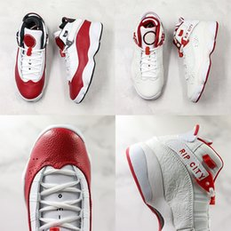 red mens rings Australia - New Arrival Rip City Rings 6s Baskebetball Shoes Champion White Red Suede TOP Designer Mens Athletic Outdoor Sport Sneaker