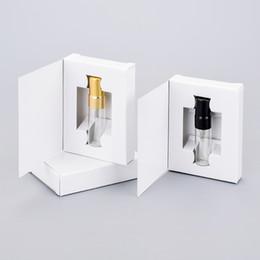 Scatole di carta personalizzabili di 200pcs 3ML e bottiglia di profumo di vetro con l'imballaggio di Atomizerempty da DHL in Offerta