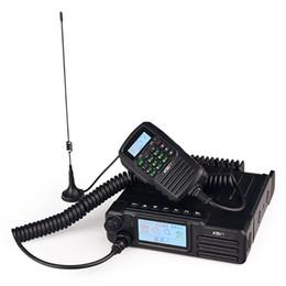 Dual banD car online shopping - NEWEST KSUN W W dual band vhf uhf car radio gps control Dual mode car station National intercom W high power car radio